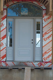 Home Construction Front Door