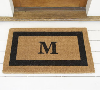 Finished Personalized Monogram Doormat