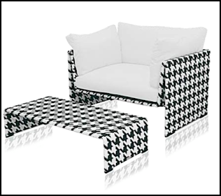 Houndstooth Pattern Home Decor