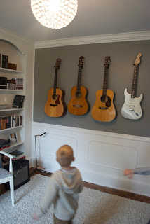 DIY Wall Mount Guitar Holder