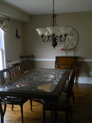 My Dining Room Updated!!