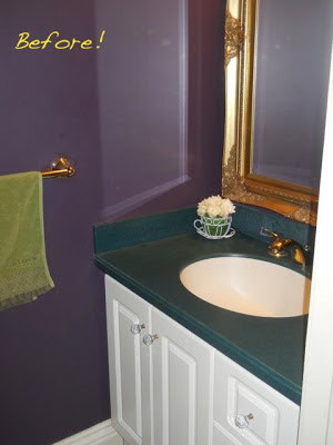 Powder Room Complete!