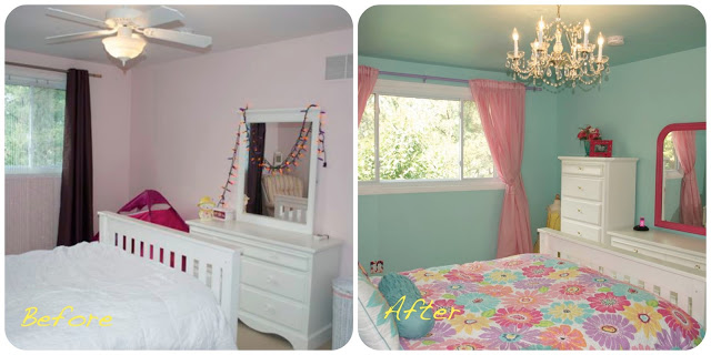 Girls Whimsical Bedroom