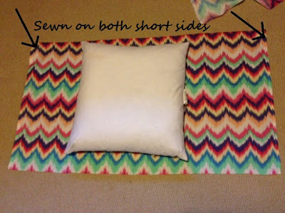 DIY Envelope Pillow Cover