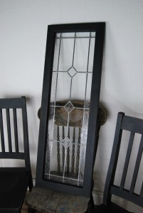 annie sloan chalk paint graphite painted door
