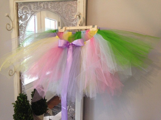 DIY No-Sew Unicorn Tutu