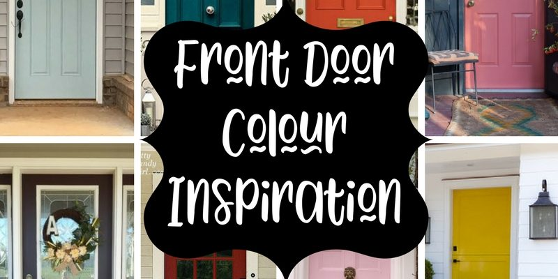front door color inspiration logo