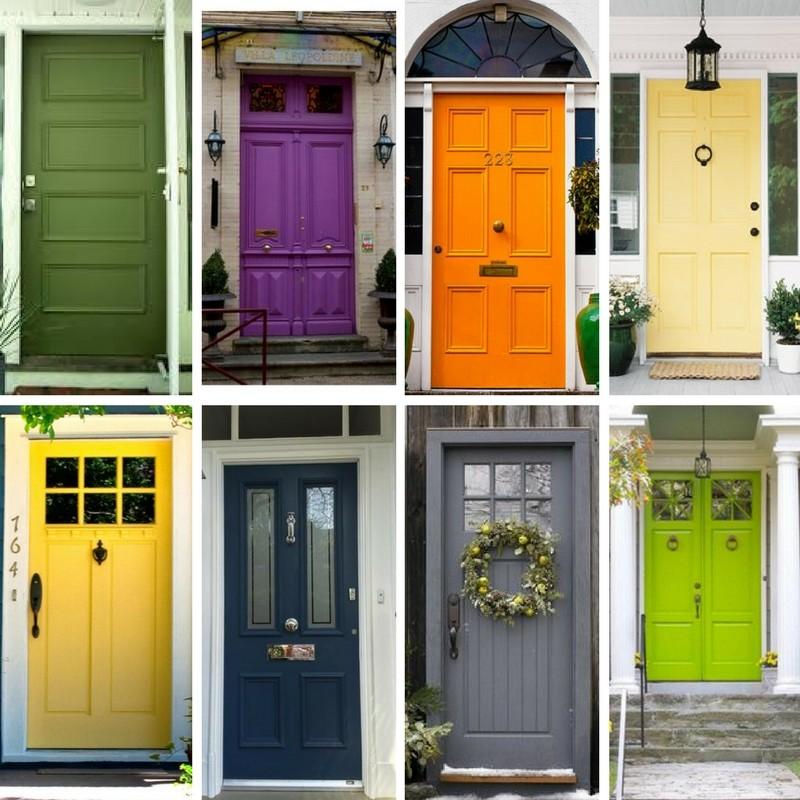 Front Door Inspiration: Front Door Color Inspiration