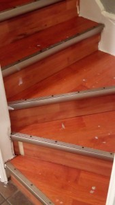 laminate stairs without chalk paint