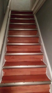 laminate staircase not chalk painted
