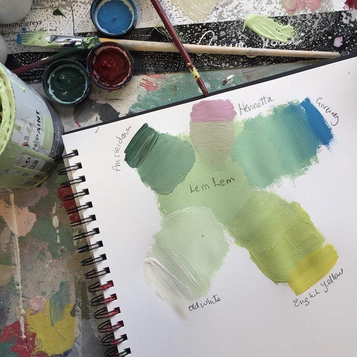Annie Sloan Chalk Paint Colors – Mixology