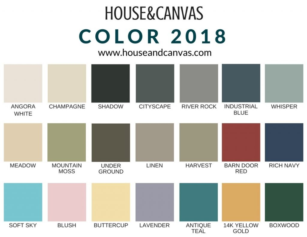 House&Canvas Color Card