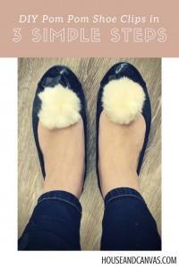 Pom Pom Shoe Clip