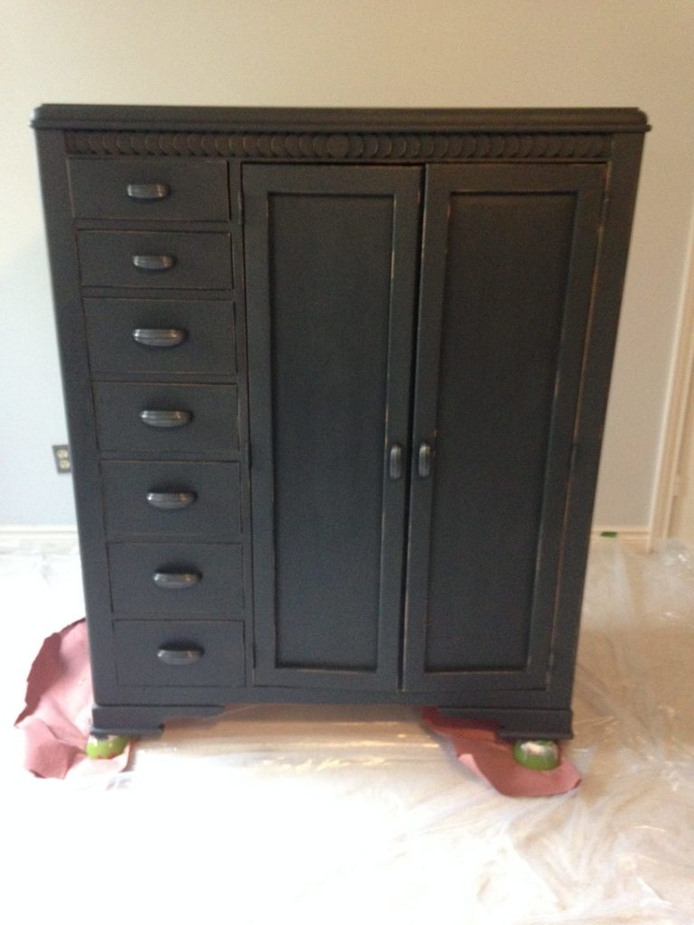 Furniture Painted With Chalk FInish Paint Colors
