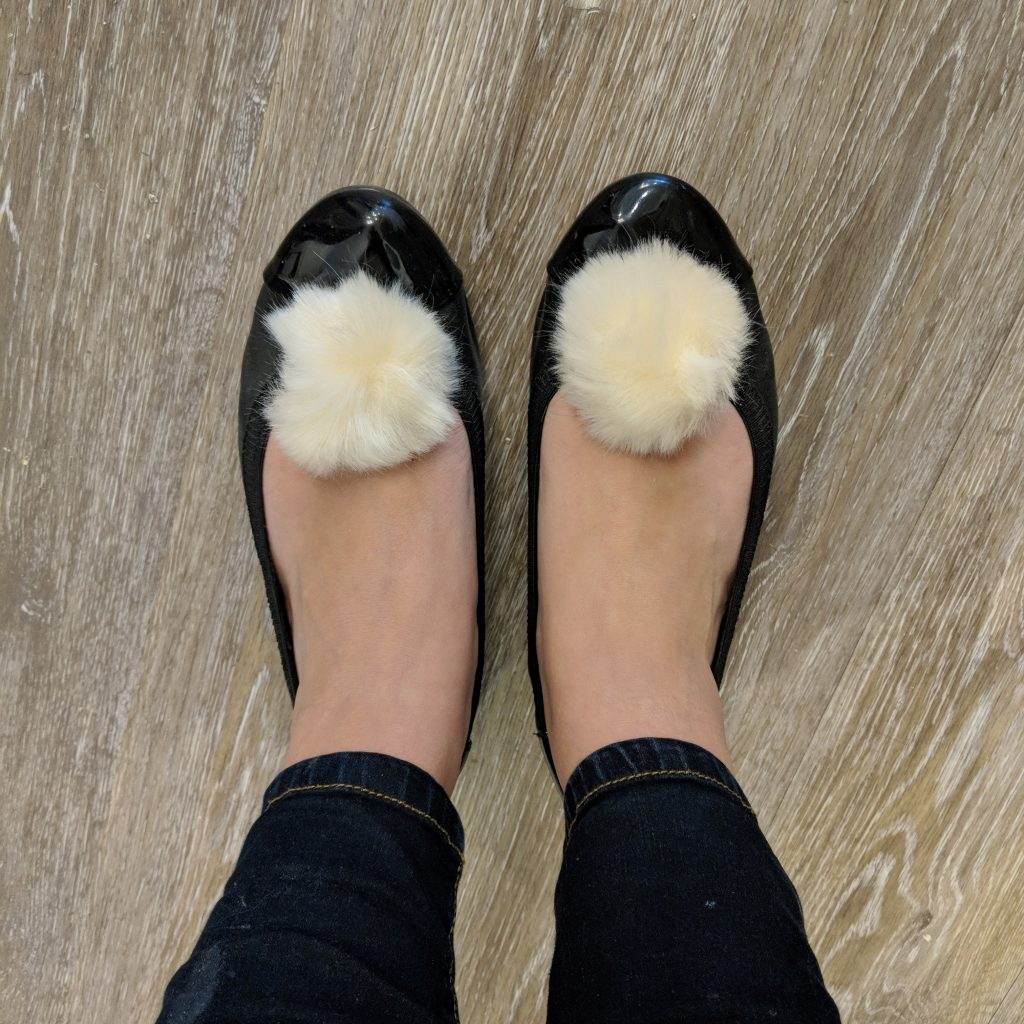 How To Create A Pom Pom Shoe Clip In Three Simple Steps!