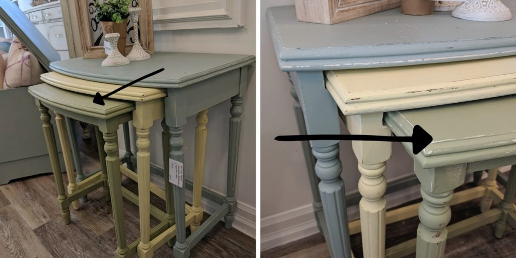 Nested Tables Chalk Finish Paint