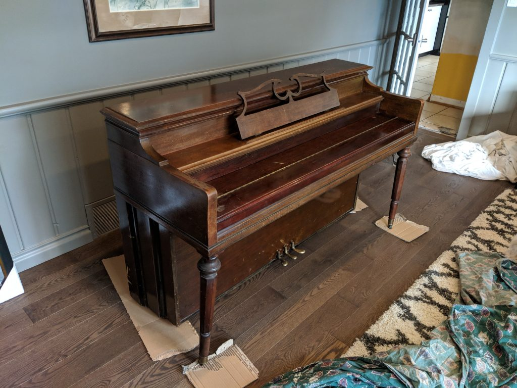 Piano - Before
