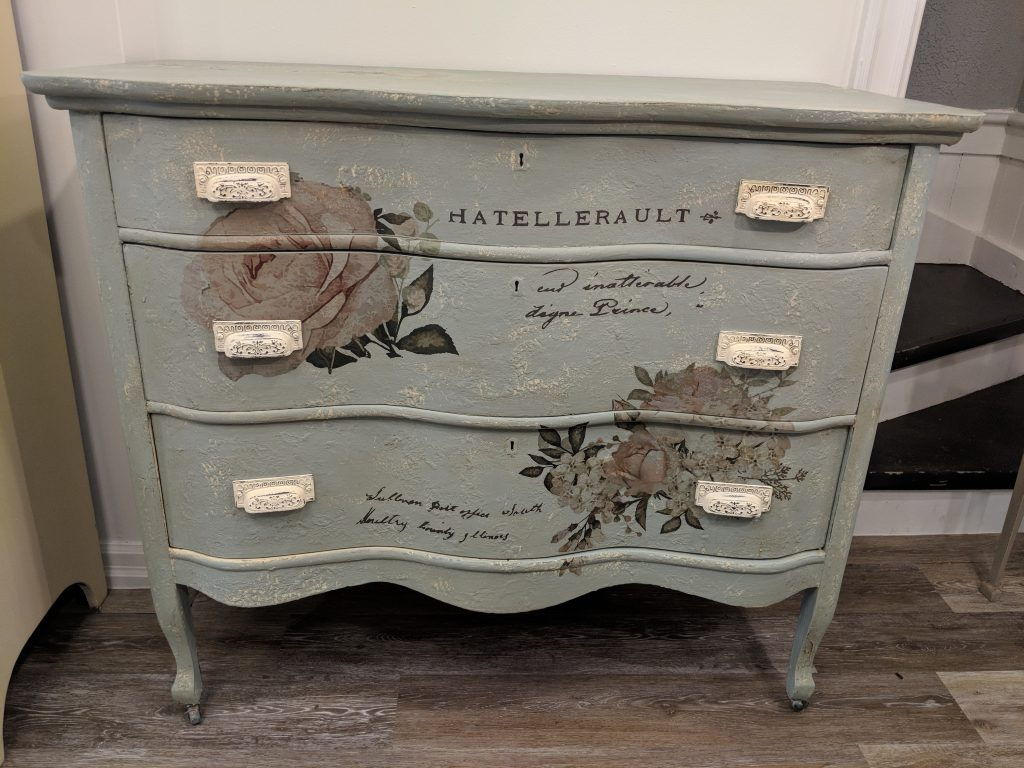 Painting A Dresser – Third Times A Charm