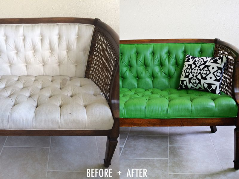 How To Paint Upholstery In Five Easy Steps