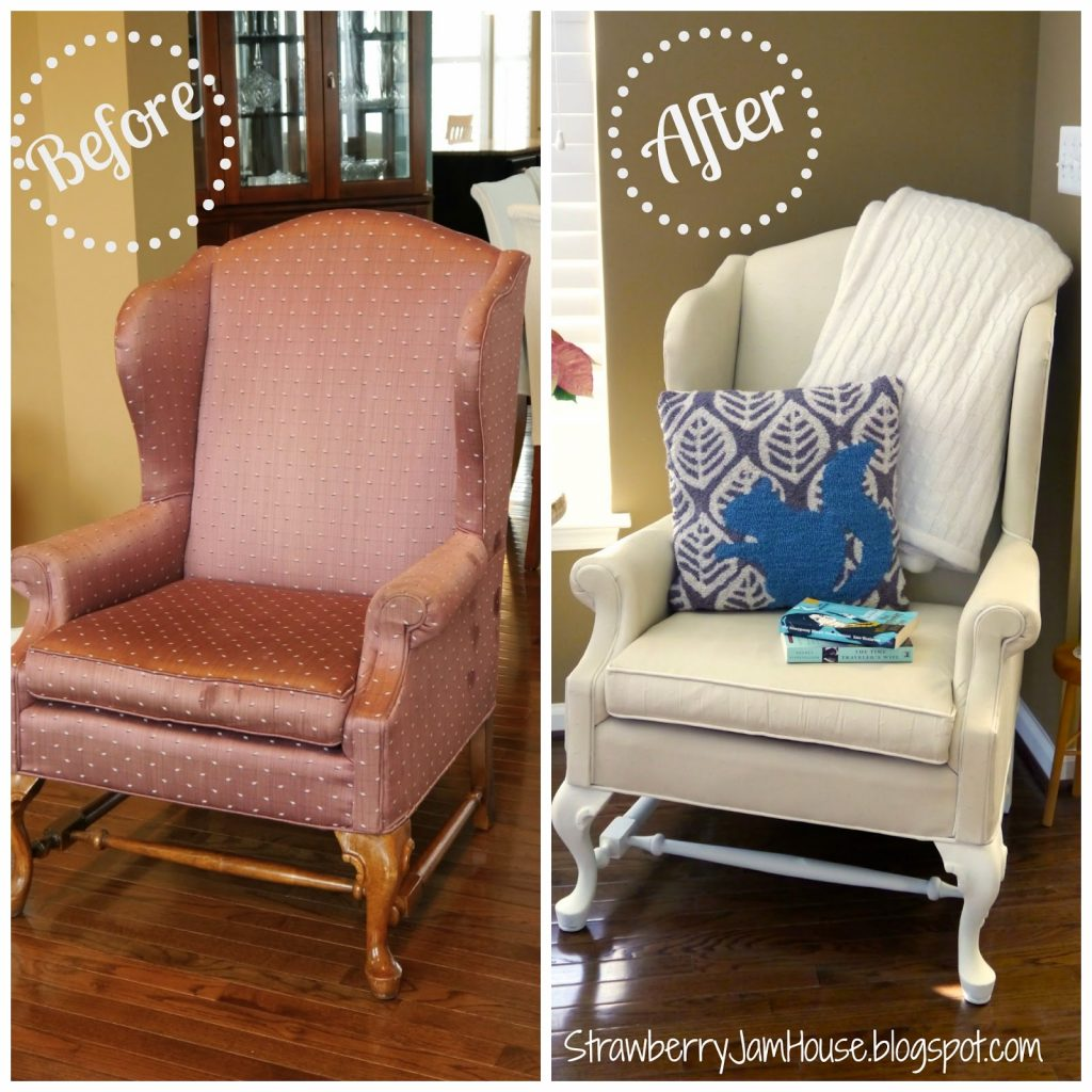 How To Paint Upholstery With Chalk Finish Paint