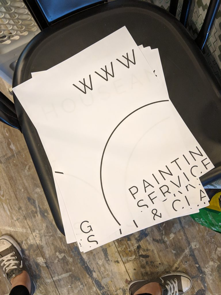 Create A Chalkboard Stencil Using Your Printer