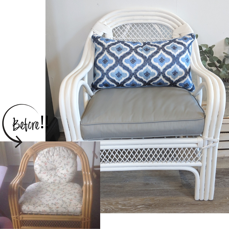 How To Paint Outdoor Cushions House Canvas Diy Blog