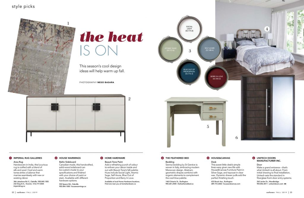 House&Canvas In Our Homes Magazine