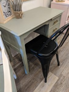 Painting And Refinishing A Small Wood Desk