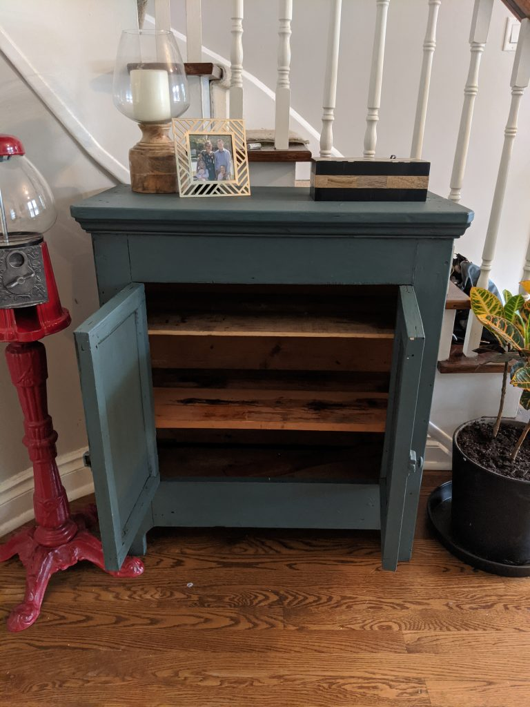 DIY Antique Cupboard Upcycle