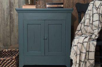 Jameson Blue painted cabinet