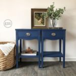 painted rich navy