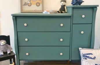 painted dressor