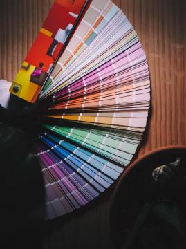 color card fan