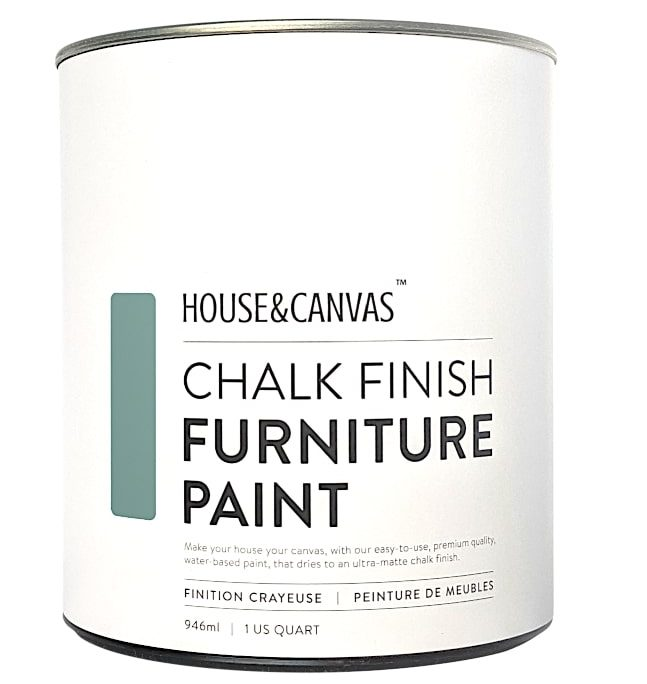 House&Canvas Chalk Finish Furniture Paint Quart Can