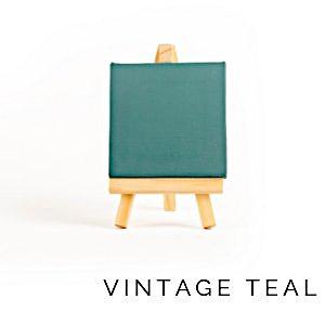 vintage teal