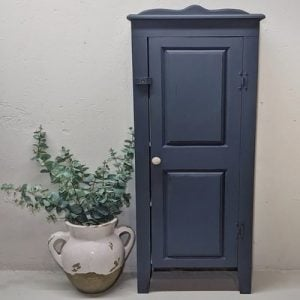 Cabinet Painted Industrial Blue