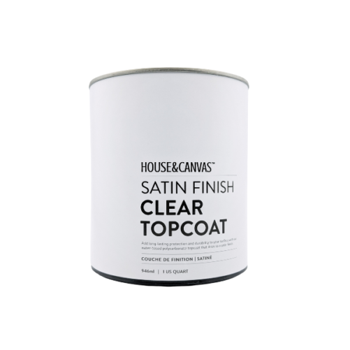 satin finish clear topcoat